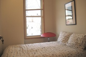 Cute, charming, furnished and cheap bedroom in cute apartment